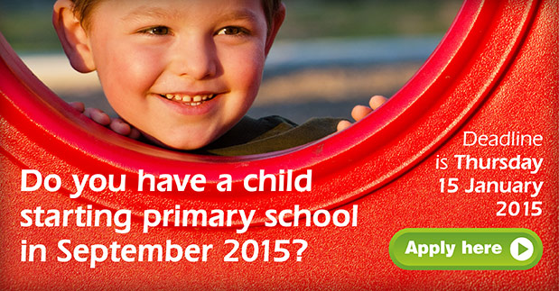Applying for your child's Primary School Place